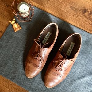Vintage Leather Oxfords, size 7.5